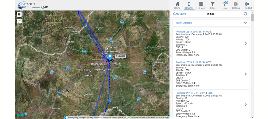 Need to locate aircraft? Satellite-aircraft-tracking by SatAuth 1