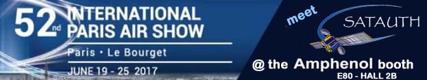 SatAuth at International Paris Air Show 2017