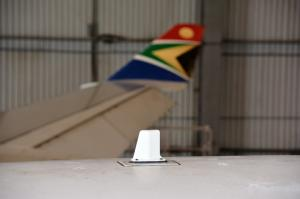 SatAuth Satellite tracking for planes onboard South African Airways Airbus A340-300 7